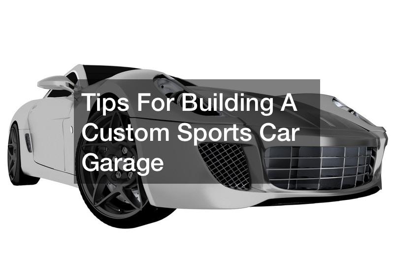 European sports car garage